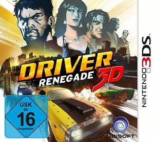 Driver: Renegade 3D (Nintendo 3DS) - <span itemprop=availableAtOrFrom>Leibnitz, Österreich</span> - Driver: Renegade 3D (Nintendo 3DS) - Leibnitz, Österreich