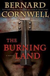 The Burning Land (Warrior Chronicles) Cornwell, Bernard