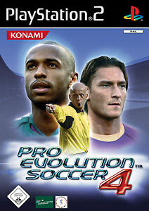 Pro Evolution Soccer PES 4 PS2 Playstation 2