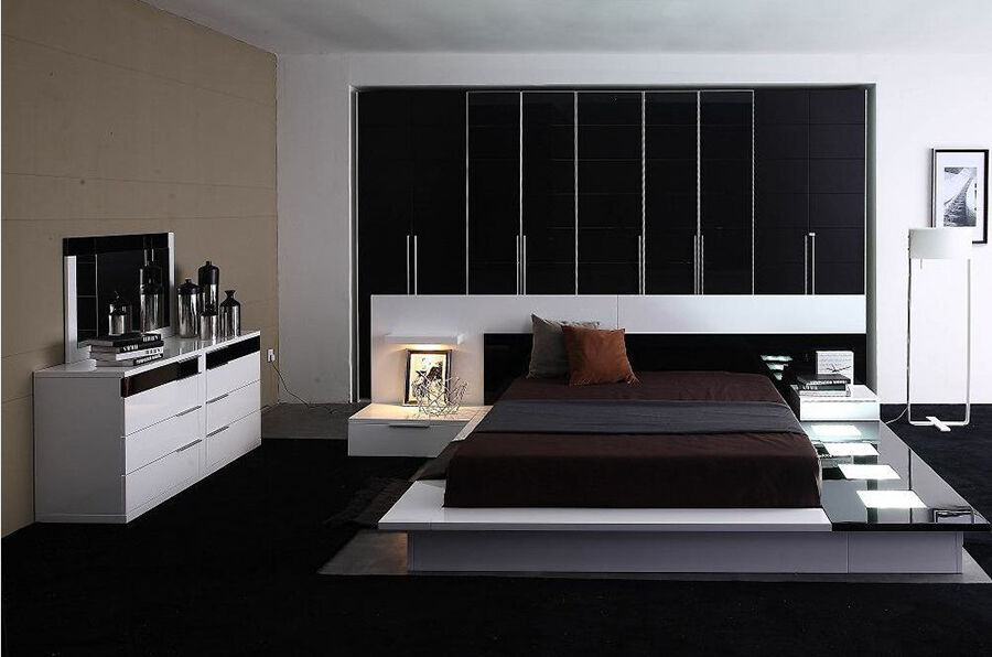 The Impera Modern bedroom set will help you upgrade your bedroom design to  a truly fashionable and functional look that will have your friends and  family. Top 10 Modern Bedroom Sets   eBay