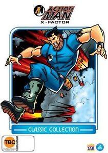 Action Man - The X Factor (DVD, 2012, 2-Disc Set)