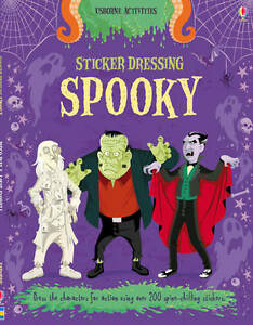 Sticker Dressing Spooky BRAND NEW BOOK by Louie Stowell (Paperback, 2012)