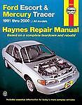 Ford-Escort-and-Mercury-Tracer-1991-Thru-2000-by-Alan-Ahlstrand-and-John