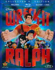 Widescreen DVDs and Wreck-It Ralph Blu-ray Discs