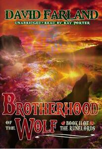 Brotherhood of the Wolf Runelords, Book 2 Runelords Audio