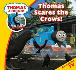 NEW - THOMAS STORYTIME ( 23 ) THOMAS SCARES THE CROWS  small book (STORY TIME)