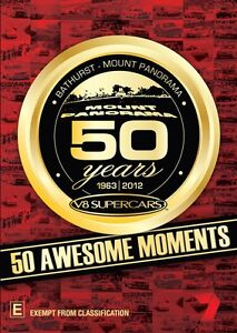 50 Years Of Bathurst: 50 Awesome Moments DVD R4 NEW