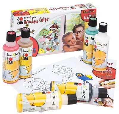 Farben, Schablonen & Co: Diese Utensilien sollte ein Window-Colours-Set enthalten