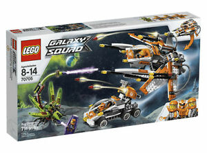LEGO 70705 Galaxy Squad Bug Obliterator in Sealed Box, 4 minifigures