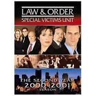 Law & Order: Special Victims Unit - The Second Year (DVD, 2005, 3-Disc Set) (DVD, 2005)