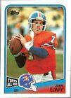 Denver Broncos Football Trading Cards Lot