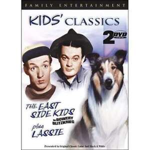 Kids Classics The East Side Kids Plus Lassie DVD 1999 2Disc Set - Iselin, New Jersey, United States - Kids Classics The East Side Kids Plus Lassie DVD 1999 2Disc Set - Iselin, New Jersey, United States