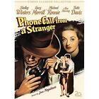 Phone Call From a Stranger (DVD, 2008, Bette Davis Centenary Collection)
