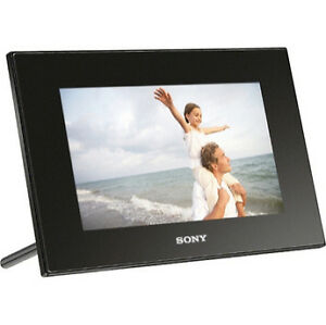 Sony Dpfd72nb 7 Lcd Digital Photo Frame Ebay