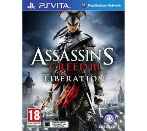 Assassin's Creed III: Liberation (Sony PlayStation Vita, 2012)