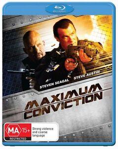 Maximum Conviction (Blu-ray, 2012) BRAND NEW SEALED