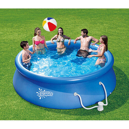 Above ground inflatable pools images for Inflatable above ground pools