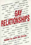 Gay Relationships, John Dececco  Phd, 0918393337