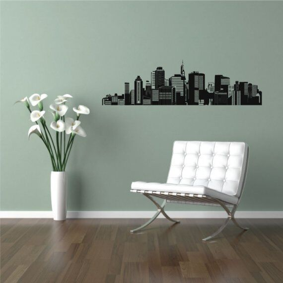 City and Building Wall Decals