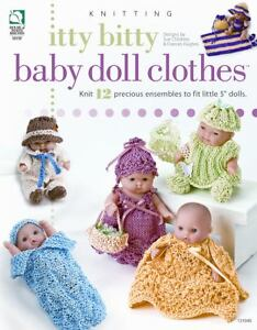 Itty Bitty Baby Doll Clothes (Annie's Attic: Knit), Hughes, Frances, Childress,