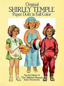 NEW Original Shirley Temple Paper Dolls (Dover Celebrity Paper Dolls)