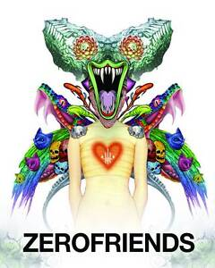 Zerofriends: A Collection of Art and Madness by Alex Pardee (Hardback, 2014)