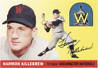 Reprint Harmon Killebrew Baseball Cards