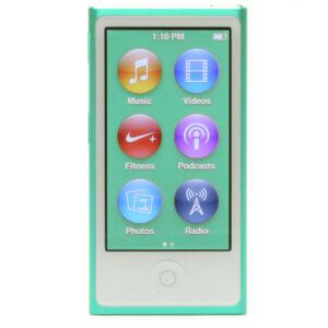 apple ipod nano 7th generation green 16 gb for sale online ebay. Black Bedroom Furniture Sets. Home Design Ideas