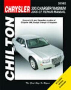 2005 2007 chilton chrysler 300 charger magnum repair manual rh ebay com 2010 chrysler 300 repair manual 2007 chrysler 300 repair manual free