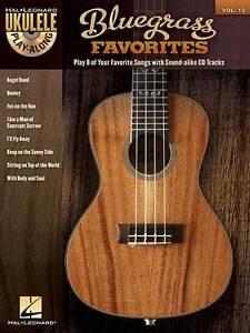 Ukulele Play-Along: Bluegrass Favorites: Volume 12 by Hal Leonard Corporation...