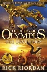 New The Lost Hero: Heroes Of Olympus (Book 1) By Rick Riordan