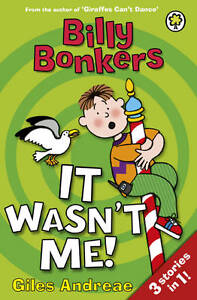 It Wasn't Me! (Billy Bonkers), Andreae, Giles, Very Good Book