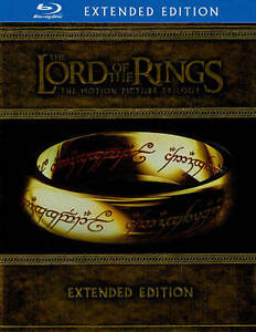The Lord of the Rings: The Motion Picture Trilogy (Blu-ray Disc, 15-Disc Set)