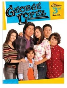 George Lopez: The Complete 3rd Season (DVD, 2013, 4-Disc Set) AUTHENTIC REGION 1