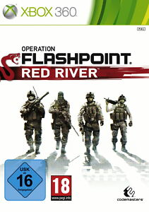 Operation Flashpoint: Red River (Microsoft Xbox 360, 2011, DVD-Box)