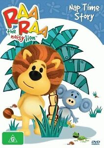 Raa-Raa-The-Noisy-Lion-Nap-Time-Story-DVD-2013-NEW-SEALED-REGION-4