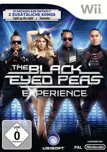 The Black Eyed Peas Experience (D1 Edition) (Nintendo Wii, 2011, DVD-Box)