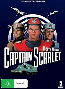 Gerry Anderson - Captain Scarlet (DVD, 2009, 6-Disc Set)