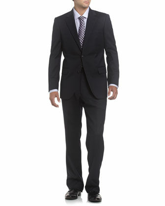 Wool Navy Suit