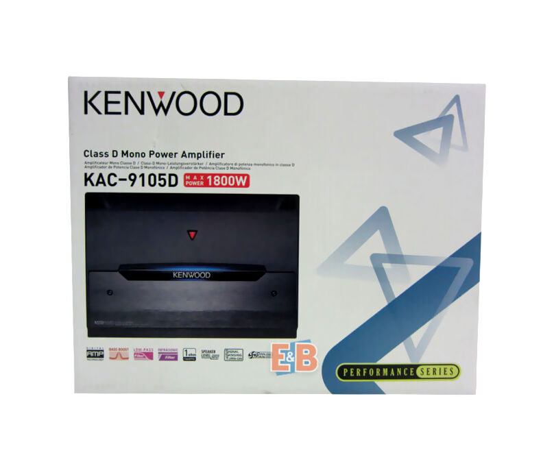 top 5 mono car amplifiers ebay Wiring Kenwood Kac 9105d the kenwood kac 9105d 1800 watt class d mono amplifier excels at clean sound even on high power owners can pump up the volume and still enjoy crisp, how to wire kenwood kac 9105d