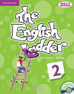 The English Ladder Level 2 Activity Book with Songs Audio CD, House, Paul, Scott