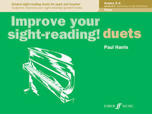 Duets Piano Grades 2-3 (Improve Your Sight-reading!), New, Paul Harris Book