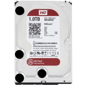 1TB Western Digital red WD10EFRX RAID Intern sATA3 Festplatte 64MB Cache