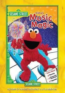 Sesame Street Elmo S Music Magic Dvd 2013 854392002919