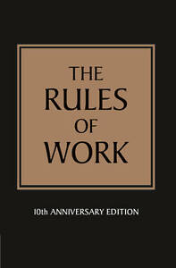 The Rules of Work, Good Condition Book, Templar, Richard, ISBN 9781447929543