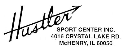 Items in Hustler Sport Center Inc shop on eBay.