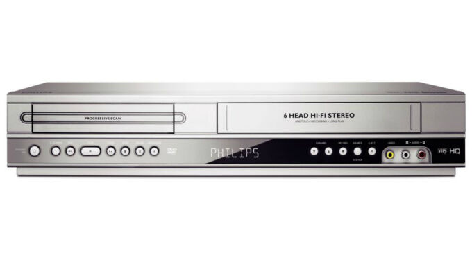 vcr to dvd machine