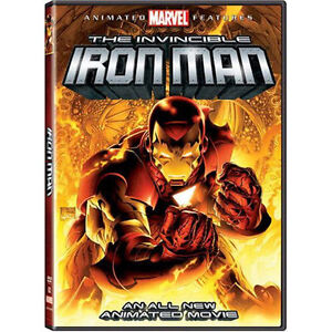 The Invincible Iron Man DVD, 2007 Brand New Factory Sealed  - $5.99