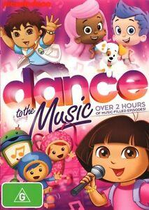Nickelodeon Favorites - Dance To The Music...REG 4...NEW & SEALED   dvd204