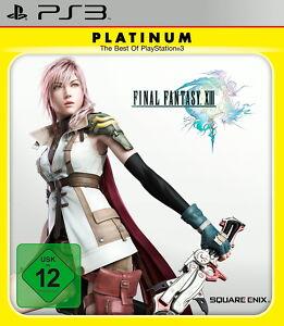 Play Station 3 Spiel PS3 Final Fantasy XIII 13 Platinum mit Anleitung
